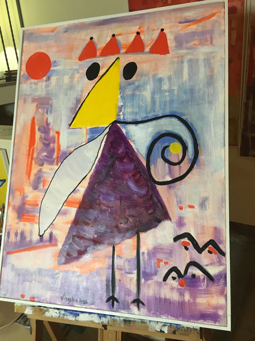 Io e gli Opposti - Olio su tela 50x60 - 2016