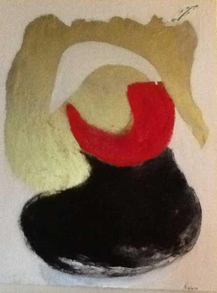 Legami - Olio e pigmenti su tela 80cm x 100cm 2012