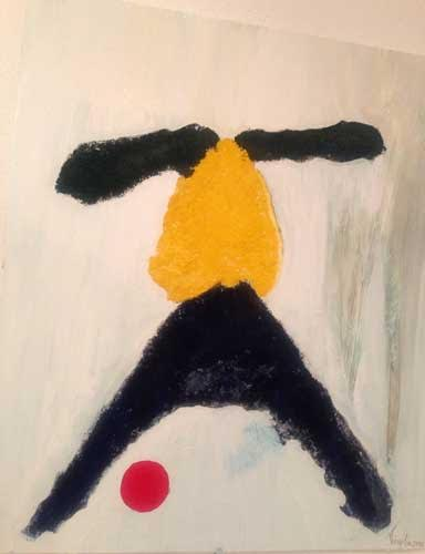 Innocenza - Olio e pigmenti su tela 60cm x 70cm