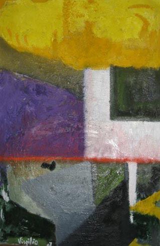Maremma - Olio e altri materiali su tela 70cm x 90cm 2007