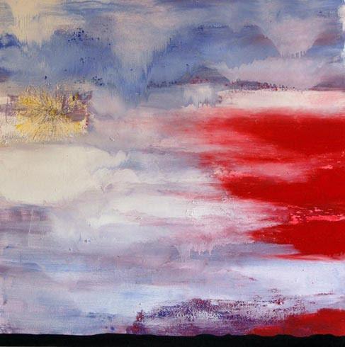 VENDUTO - Tramonto - Olio su tela 100cm x 100cm 2007