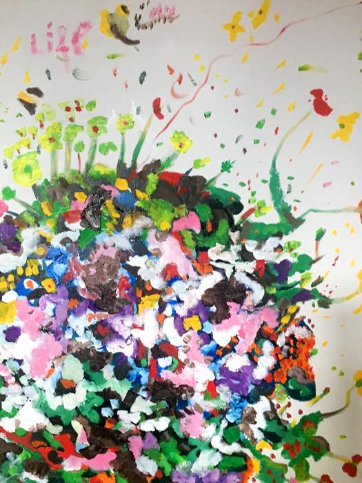 Primavera - Olio su tela 50x60