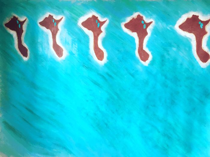 Estate 2018 - Olio su tela 210 cm x 180 cm