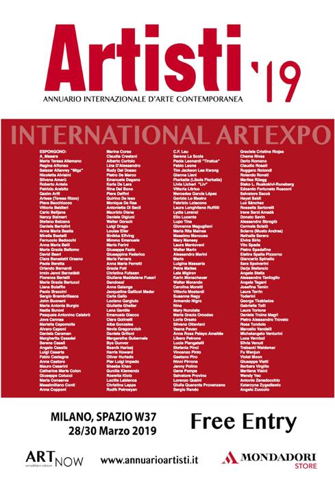 """""""Artisti 2019"""" - Annuario Internazionale d'Arte Contemporanea"""